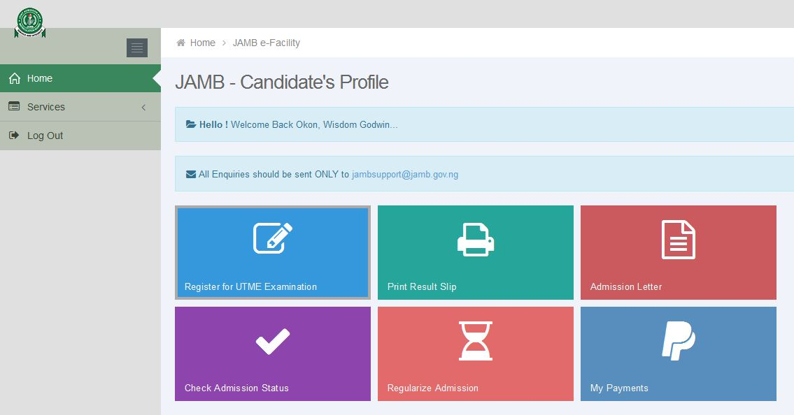 How to Check JAMB CBT 2017/18 Result Online – jamb.org.ng ...