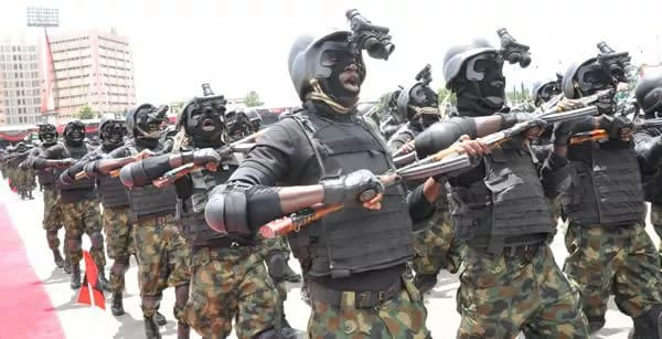 Image result for Photos of nigerian army