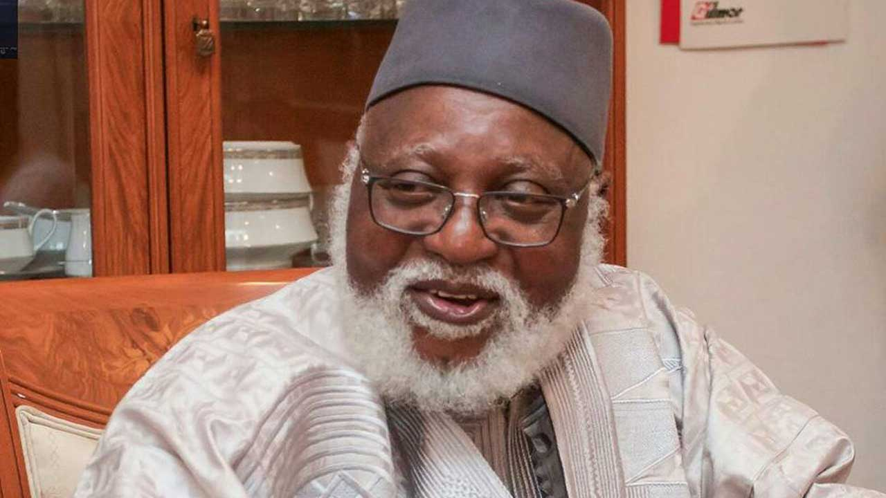 Abdulsalami Abubakar, born June 13, 1942, is a retired Nigerian Army General who was Military Head of State from 9 June 1998 until 29 May 1999. He succeeded Sani Abacha upon Abacha's death.