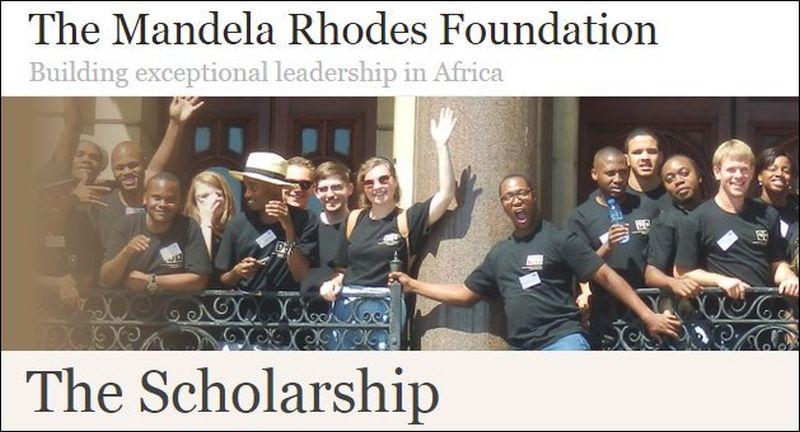 Mise à jour 2020/2021 de la bourse d'études supérieures de la Fondation Mandela Rhodes