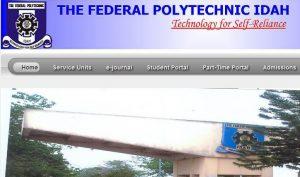 Federal Polytechnic Idah Post UTME Result
