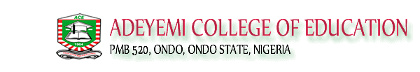 Adeyemi College of Education Ondo Resumption Date