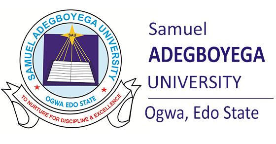 Samuel Adegboyega University Kurse und Voraussetzungen