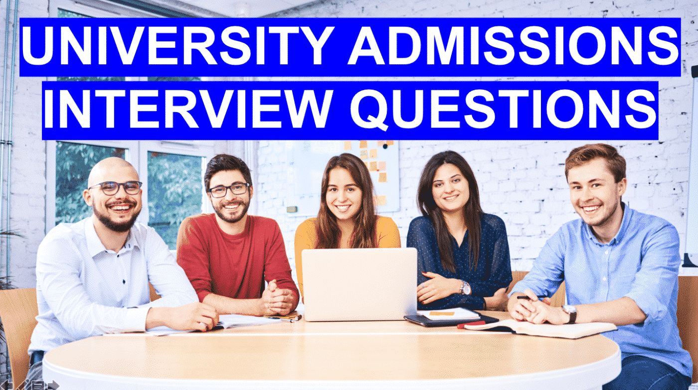 Admission Interview Questions