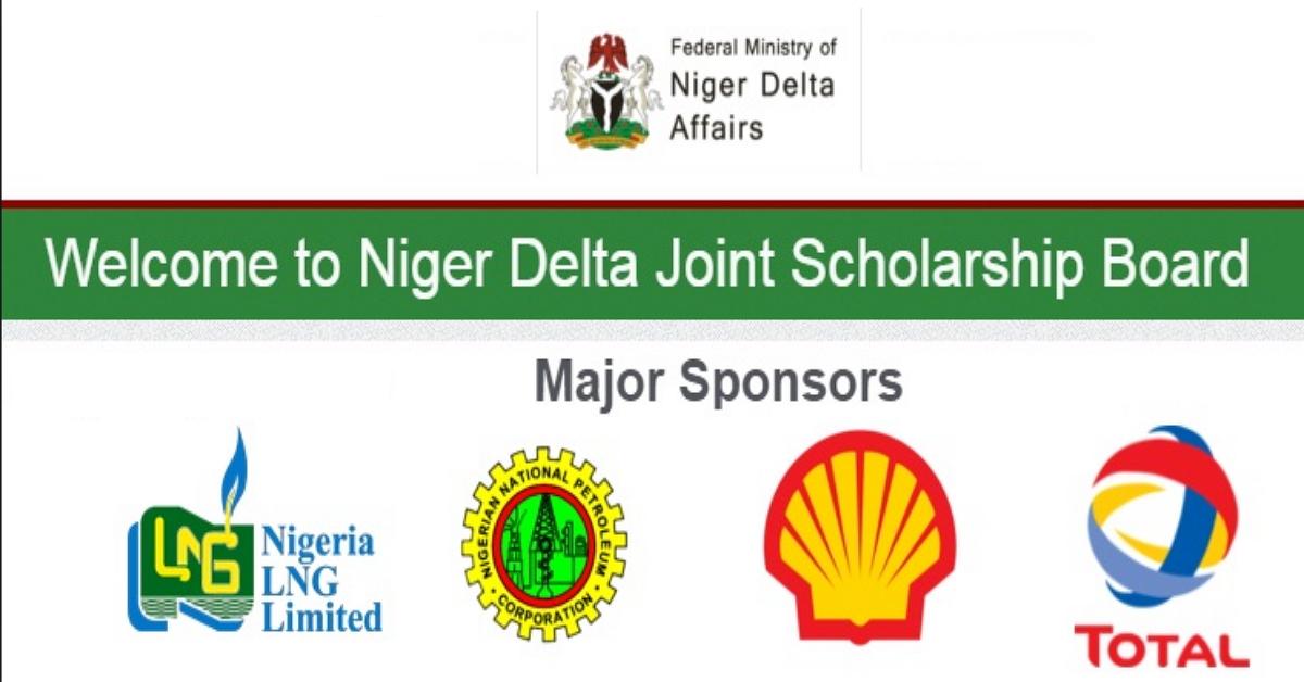 Niger Delta Joint Scholarship Program 2020/2021 Portal Updates