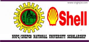 NNPC/Shell SNEPCo National University Scholarship