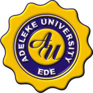 Ongoing Recruitment at Adeleke University 2019