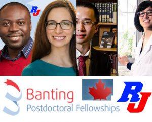 Banting Postdoc-Stipendienprogramm 2019