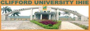 Clifford University Post UTME Domande passate