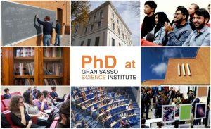 Gran Sasso Science Institute PhD Programs