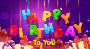 100自我生日祝福,有趣的消息和祈祷