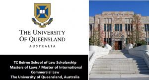 TC Beirne School of Law Scholarship 2019