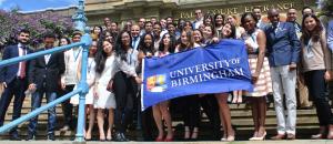 Borse di studio eccezionali per l'Università di Birmingham Taylor 2019