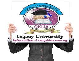 Legacy University Post UTME Eerdere vragen