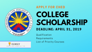 CHED-Tulong Dunong Scholarship