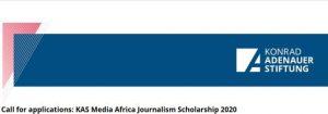 Journalistenstipendium der KAS Media Africa