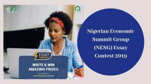 NESG Essay Competition 2019