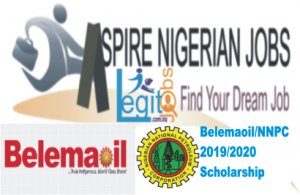 NNPC / Belemaoil Joint Venture Overseas Postgraduate Scholarship