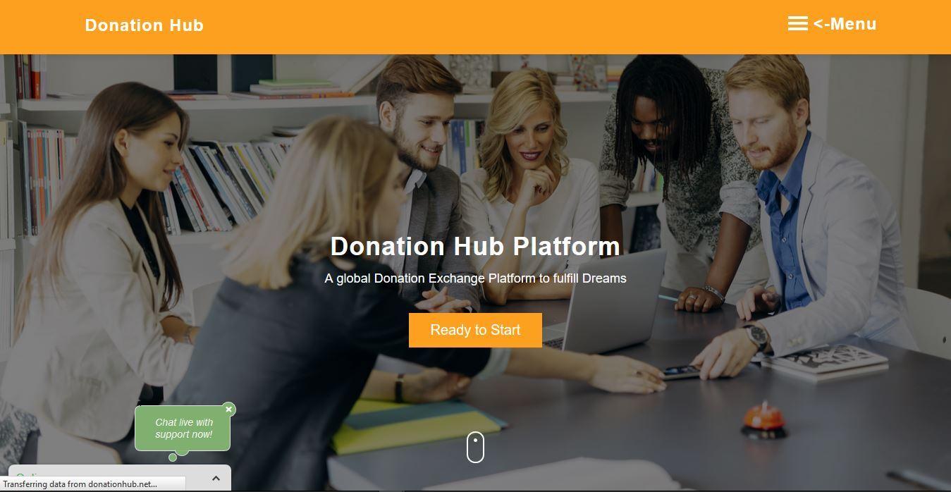 Donation Hub Registration Portal 2020/2021 Updates