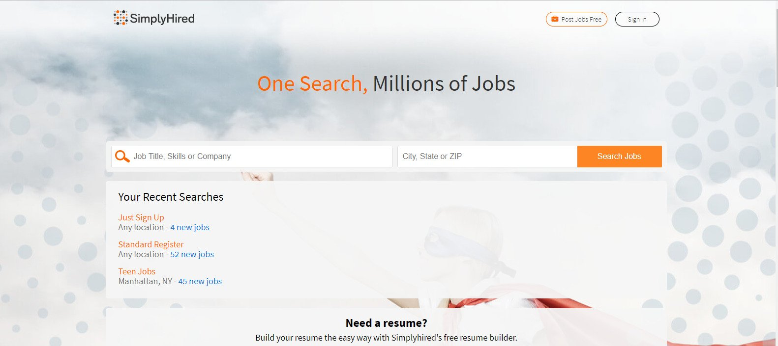 Simply Hired Login simplyhired.com and Sign up Guide