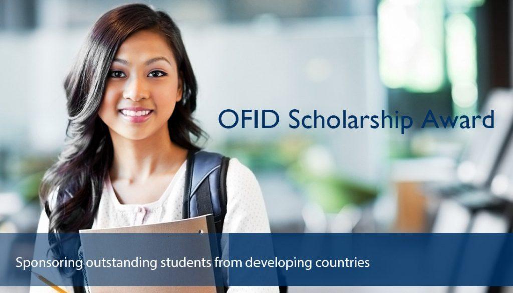 OPEC-Fonds für internationale Entwicklungsstipendien (OFID) - 2020 / 2021