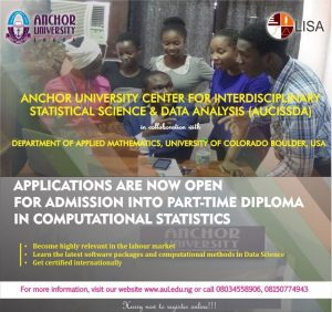 AUL Part-Time Diploma in Computational Statistic Admission Form