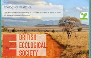 British Ecological Society Grant