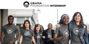 Stage Fondation Obama
