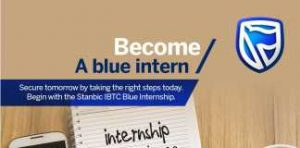 Stanbic IBTC Bank Blue Internship 2019