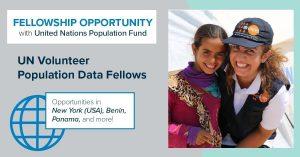 UNV/UNFPA Population Data Fellowship