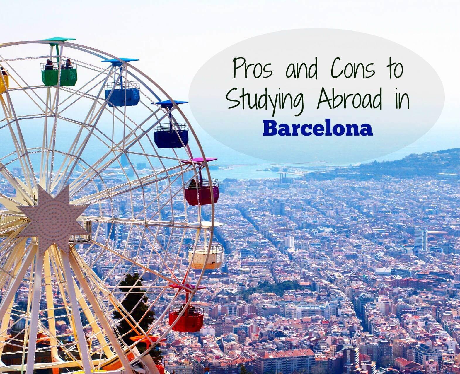 studeer in het buitenland in Barcelona