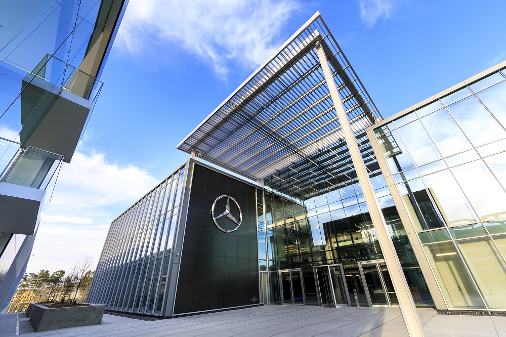mercedes benz headquarters