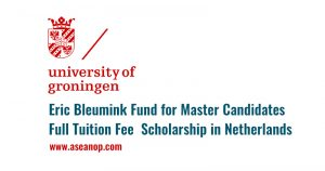 Eric Bleumink Fund Stipendium 2020
