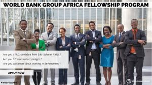 WBG-Africa Fellowship