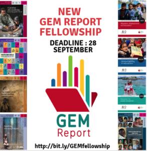 GEM Report Fellowship