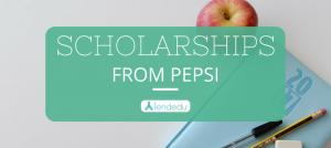 Pepsi Scholarship 2019