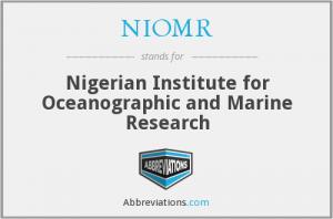尼日利亚海洋学和海洋研究所