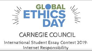Carnegie Council International Student Essay Contest