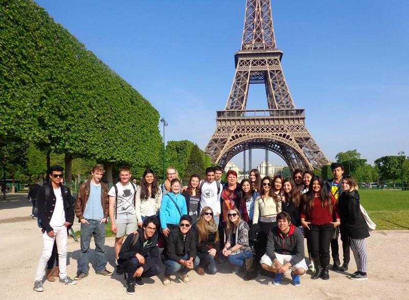 在法国学习