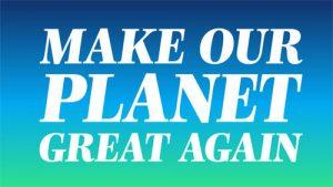 Maak onze planeet weer geweldig Programma 2019