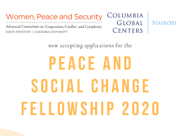 Peace and Social Change Fellowship 2020