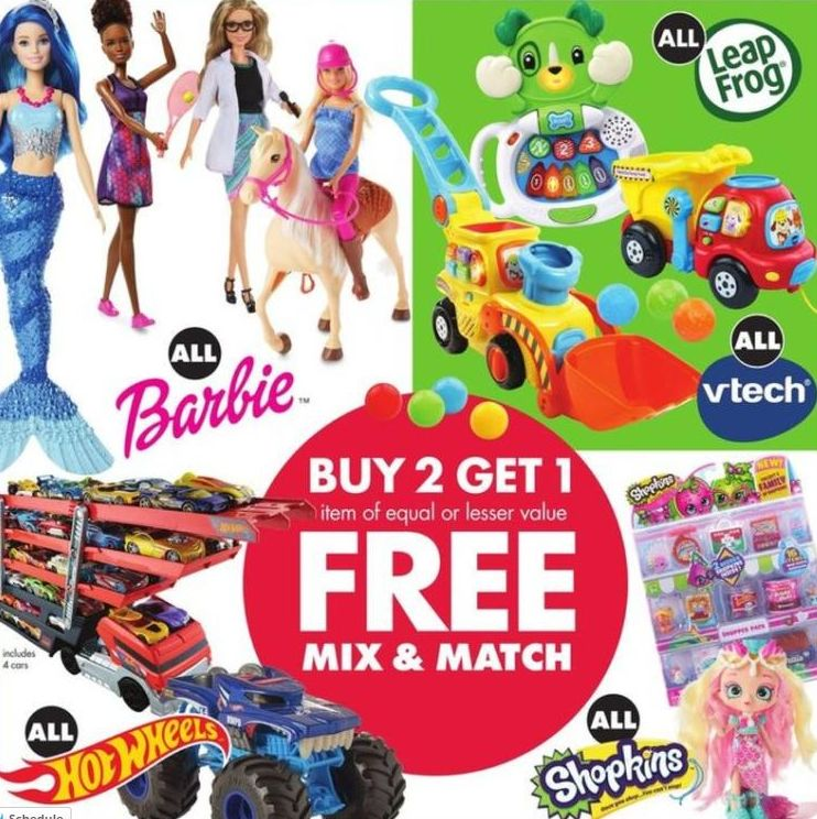 Buy 2 Get 1 Free Select Toys