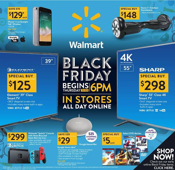 Guida alle vendite Walmart del Black Friday