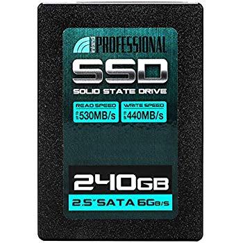 """Inland Professional 240GB SSD 3D TLC NAND SATA III 6GB/s 2.5"""" Internal Solid State Drive (240G): $25.99"""