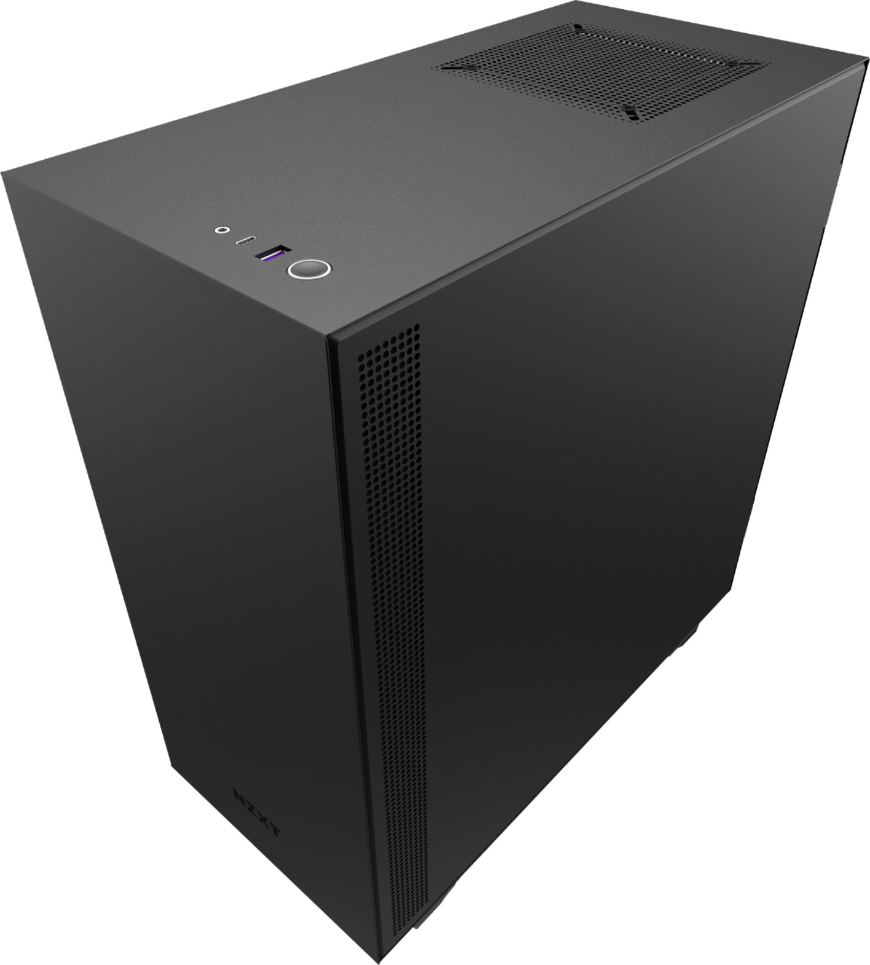 NZXT H510 Tempered Glass ATX Mid-Tower Computer Case - Black: $71.99