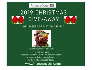 FinanceCoach Weihnachtsgeschenk