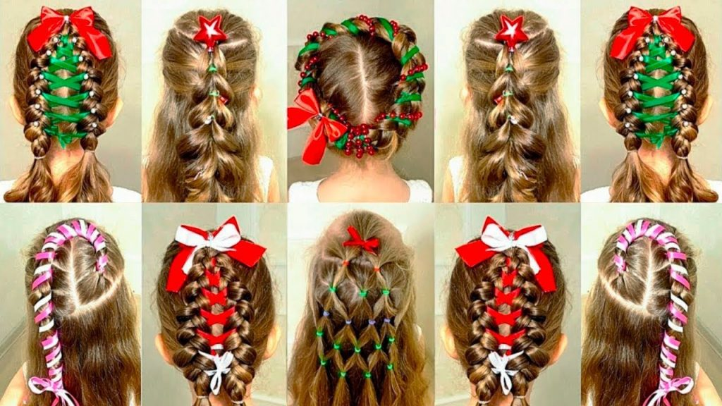 Christmas Hairstyle Ideas for all Ladies
