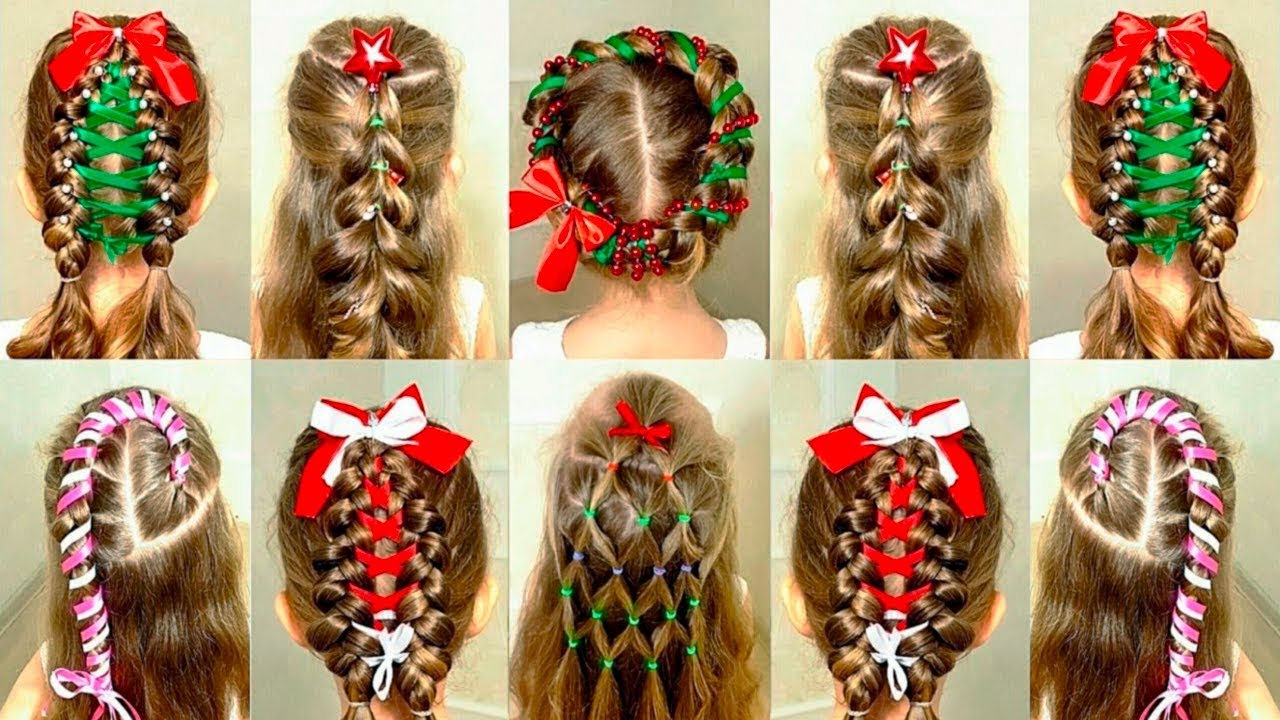 Christmas Hairstyles 2020 Beautiful Christmas Hairstyle Ideas 2020 for all Ladies   Try One
