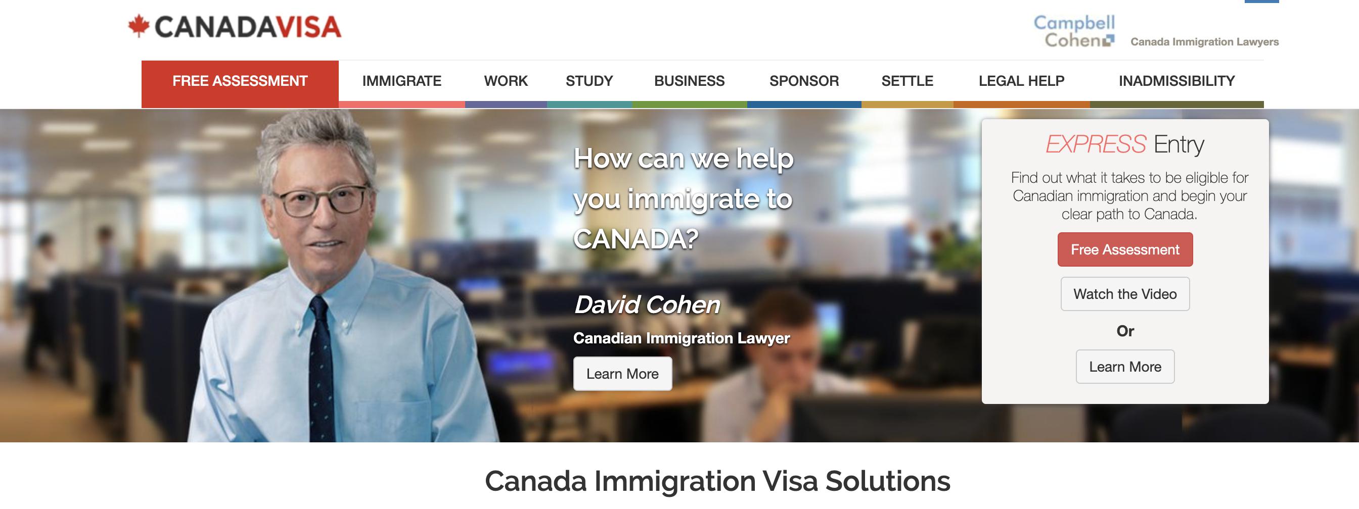 نموذج طلب يانصيب التأشيرة الكندية 2019