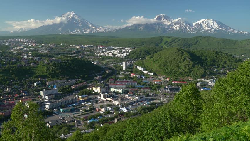 La péninsule du Kamchatka